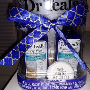 Dr. Teal's Epsom Salt Gift Set Jar